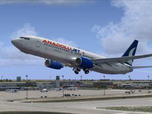 Anadolujet yeni uçağı için gün sayıyor